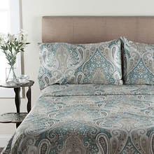 Crystal Palace Sheet Set - Aqua