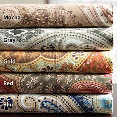 Milano 300-Thread Count Cotton Sheet Set - Gold