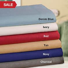 Fleece Sheet Set - Tan