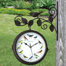 Outdoor Singing Bird Clock