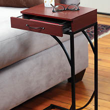 Sofa Side Table with Drawer