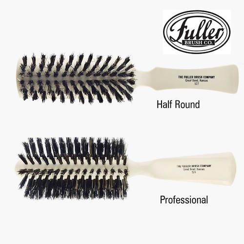 Fuller Hair Brush - Half Round