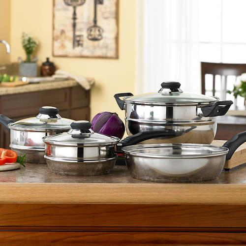 7-Pc. RidgeLine Cookware Set