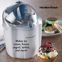 Hamilton Beach Ice Cream and Frozen Yogurt Maker