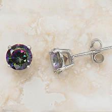 Sterling Silver Mystic Earrings