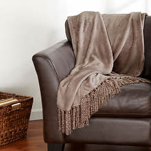 Danya Fringe Throw - Praire