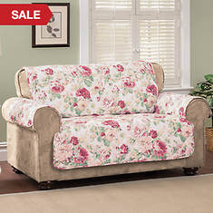 English Floral Furniture Protector - Sofa - Rose