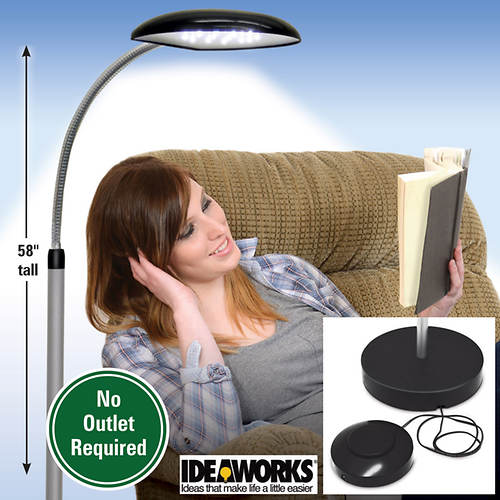 LED Cordless Anywhere Lamp with Foot Control