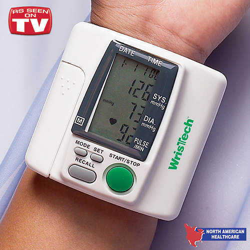 Blood Pressure Wrist Monitor