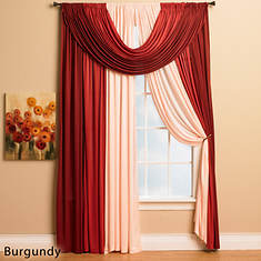 Bella Window in a Bag - Burgundy