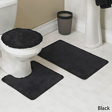 Hailey 3-Pc. Bath Set - Black