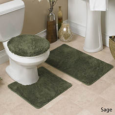 Hailey 3-Pc. Bath Set - Sage