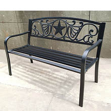 Bronze Steel Welcome Bench