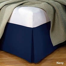 Tailored Bedskirt - Navy