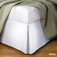 Tailored Bedskirt - White