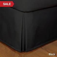 Tailored Bedskirt - Black