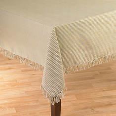 Homespun Table Linen - 52' x 70' - Natural
