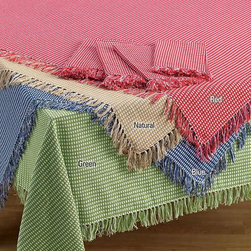 Homespun Table Linen-Round-Natural