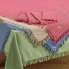 Homespun Table Linen - Round - Natural