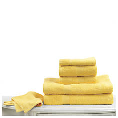 6-Pc. Bright Towel Set - Canary