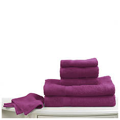6-Pc. Bright Towel Set - Magenta