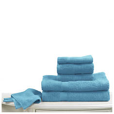 6-Pc. Bright Towel Set - Teal