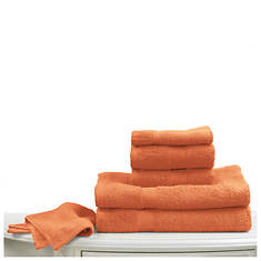 6-Pc. Bright Towel Set - Orange