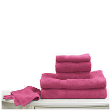 6-Pc. Bright Towel Set - Fuschia