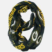 NFL Sheer Infinity Scarf - Packers