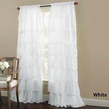 Gypsy Ruffled Panel - White