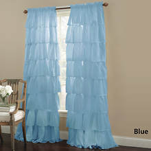 Gypsy Ruffled Panel - Blue
