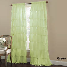 Gypsy Ruffled Panel - Green