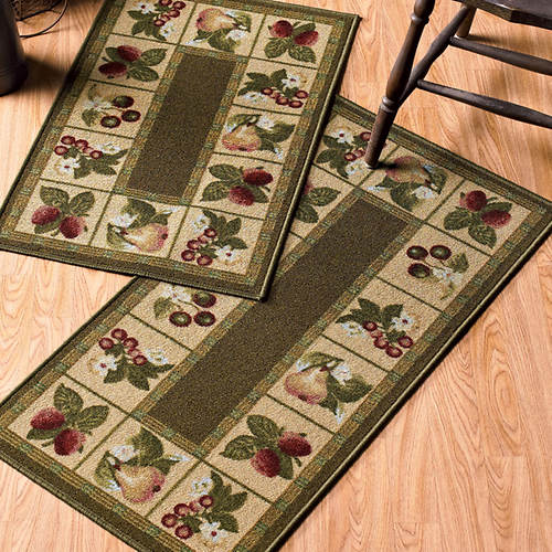 2-Pc. Kitchen Rug Set