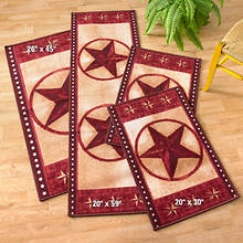 4-Pc Barn Star Rug Set