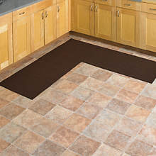 L Shaped Rug - Brown
