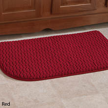 Anti-Fatigue Foam Kitchen Mat-Red