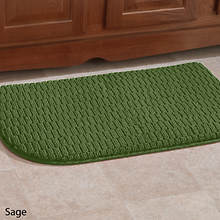 Anti-Fatigue Foam Kitchen Mat-Sage
