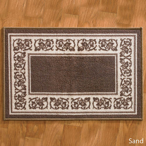 4-Pc. Floral Border Rug Set