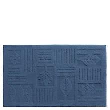 Leaf Rug - 27 x 45 - Blue