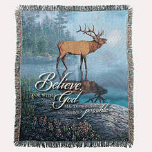 Inspirational Tapestry Throw - Bugle Boy