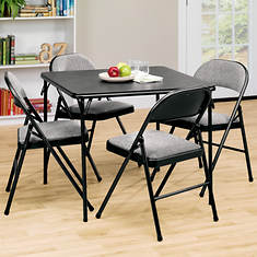 5-Pc. Folding Table and Chair Set