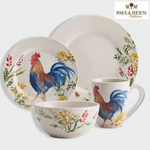 Paula Deen® Garden Rooster Dinnerware