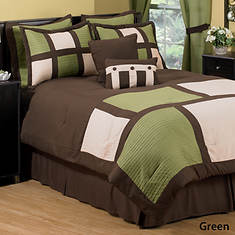 Miranda 8-Pc. Comforter Set - Green