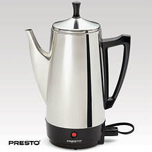 Presto® Stainless Steel 12 Cup Percolator