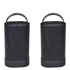 AudioGlow 2-Pack Bluetooth Speakers