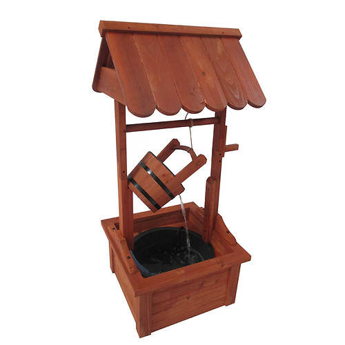 Stonegate Designs Wishing Well Fountain