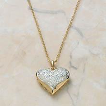 Diamond Accent Heart Pendant