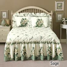 Melissa Quilt Top Bedspread - Sage