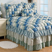 Margaret Puff Quilt Bedspread