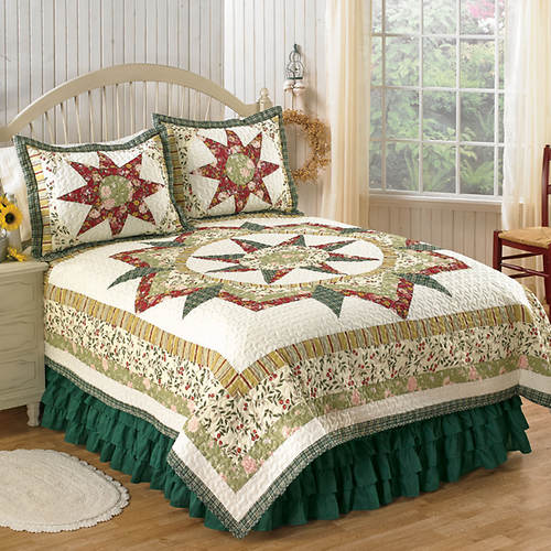 Country Star Pieced Quilt